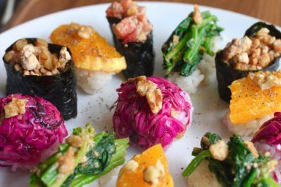 野菜料理家 庄司いずみさんが提案! パーティにもピッタリな華やか Vegetable Sushi レシピ