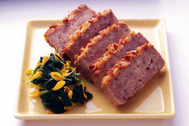 くるみと豆腐の松風焼き