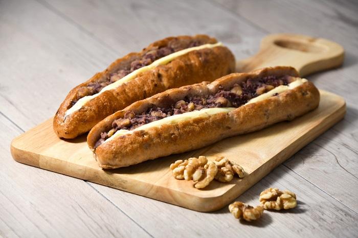 くるみの黒豆パン
